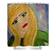 Gina Nevaeh Shower Curtain