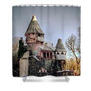 Gingerbread Castle Shower Curtain