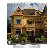 Gingerbread Mansion Shower Curtain