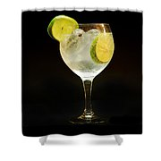 Gintonic Shower Curtain
