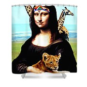 Gioconda Travelling - Africa Shower Curtain