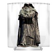 Giordano Bruno Shower Curtain