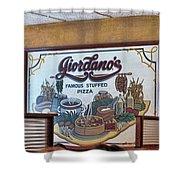 Giordanos Pizza Chicago Shower Curtain