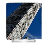 Giotto Fantastic Campanile - Florence Cathedral - Piazza Del Duomo - Italy Shower Curtain