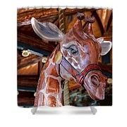 Giraffe Ride Shower Curtain