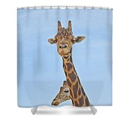 Behind Every Great Male Shower Curtain