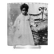 Girl, 19th Century Shower Curtain