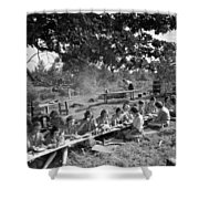 Girl Scout Picnic Shower Curtain