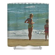 Girls Of Summer 2 10/13 Shower Curtain