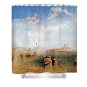 Giudecca La Donna Della Salute And San Georgio Shower Curtain