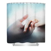 Give Me Your Hand Shower Curtain