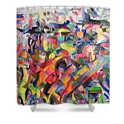 Give  Us A Sign Of The Light Of Your Countenance Upon Us 2 Shower Curtain