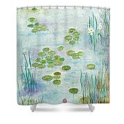 Giverny Dreaming Shower Curtain