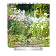 Giverny North Number Three Shower Curtain