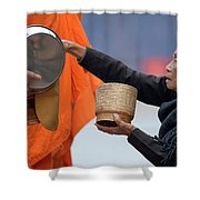 Giving Back Shower Curtain