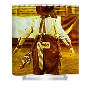 Gizmo The Rodeo Clown Shower Curtain