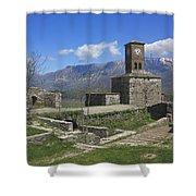 Gjirokaster Castle Albania  Shower Curtain