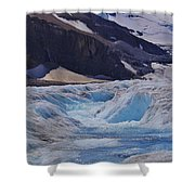 Glacial Meltwater 1 Shower Curtain