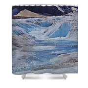 Glacial Meltwater 2 Shower Curtain