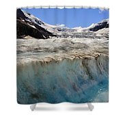 Glacial Meltwater 3 Shower Curtain