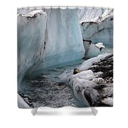 Glacial Waters Shower Curtain