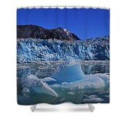 Glacier And Ice Shower Curtain