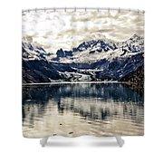 Glacier Bay Landscape - Alaska Shower Curtain