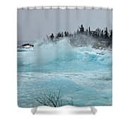 Glacier Shower Curtain