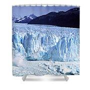Glacier, Moreno Glacier, Argentine Shower Curtain