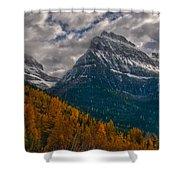 Glacier National Park Big Bend Shower Curtain