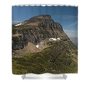 Glacier National Park Panorama Shower Curtain