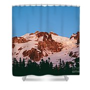 Glacier Peak At Kennedy Ridge Shower Curtain