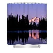 Glacier Peak Sunrise On Image Lake Shower Curtain