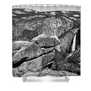 Glacier Point Nw Shower Curtain