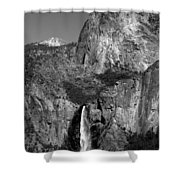 Glacier Point View 1 Shower Curtain