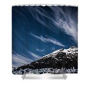 Glacier Sky Shower Curtain
