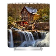 Glade Creek Cascades Shower Curtain