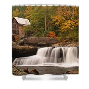 Glade Creek Grist Mill 10 Shower Curtain