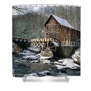 Glade Creek Grist Mill In West Virginia Shower Curtain