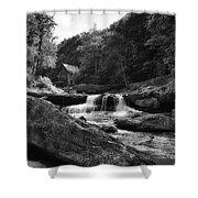 Glade Creek Waterfall Shower Curtain