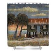 Glades Dweller Shower Curtain