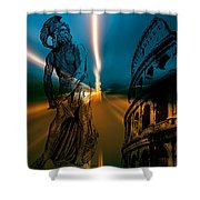 Gladiator Shower Curtain