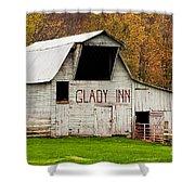 Glady Inn Barn Wv Shower Curtain