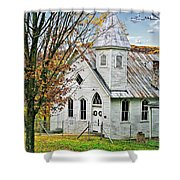 Glady Presbyterian Shower Curtain