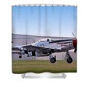 Glamorous Gal - P51 Shower Curtain