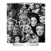 Glamour Girls 1 Shower Curtain