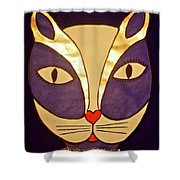 Glamour Puss Shower Curtain
