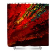 Glance Of Colors Shower Curtain