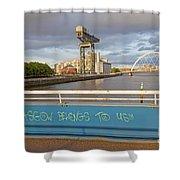 Glasgow Belongs To Us Shower Curtain