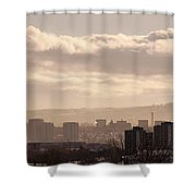 Glasgow Cityscape Shower Curtain